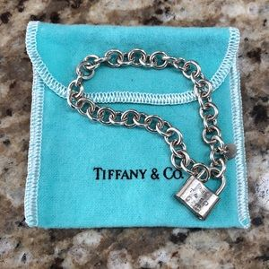 Tiffany and co 1837 lock bracelet
